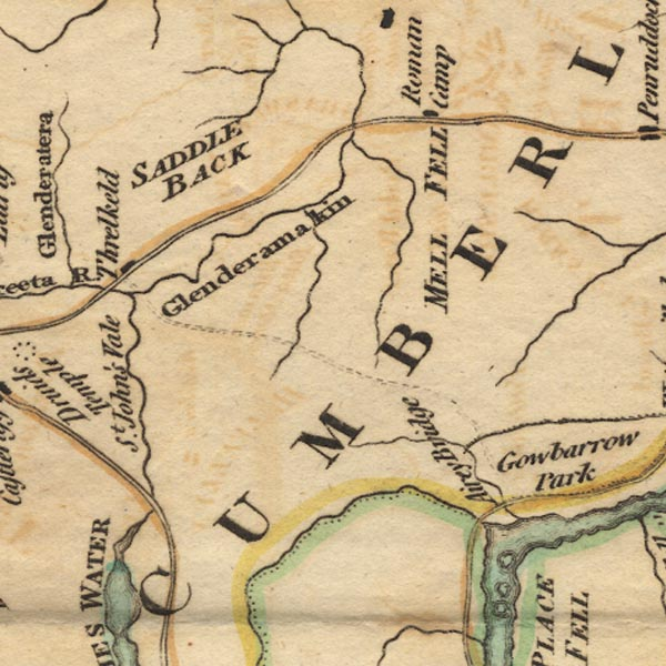 West 1784 map